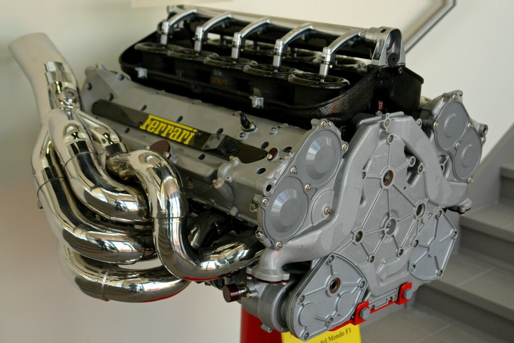 engine Ferrari F1