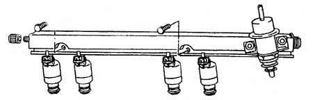 Рампа с регулятором давления