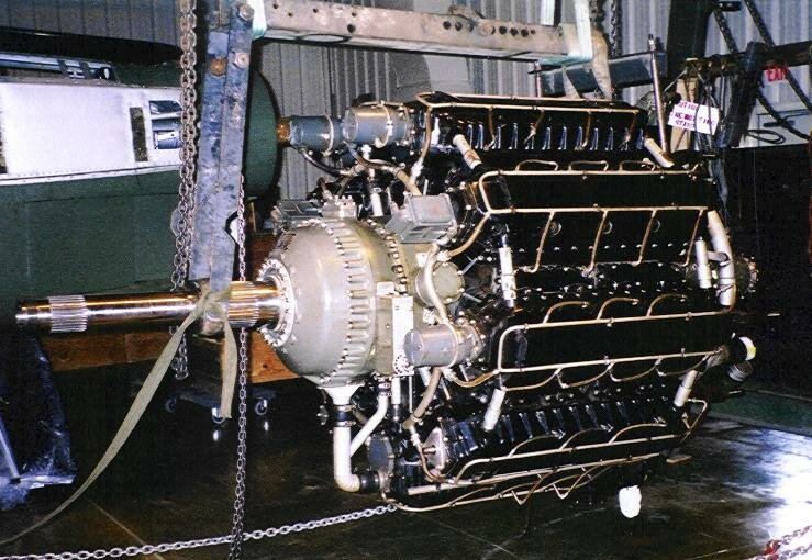 звездообразный двигатель Lycoming XR-7755