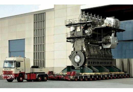 двигатель Wartsila RTA96