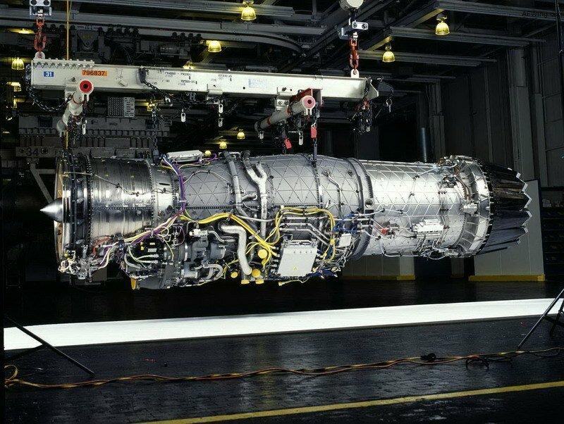 F135-PW-100 турбореактивный двигатель для самолета истребителя F35